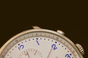 An analog watch