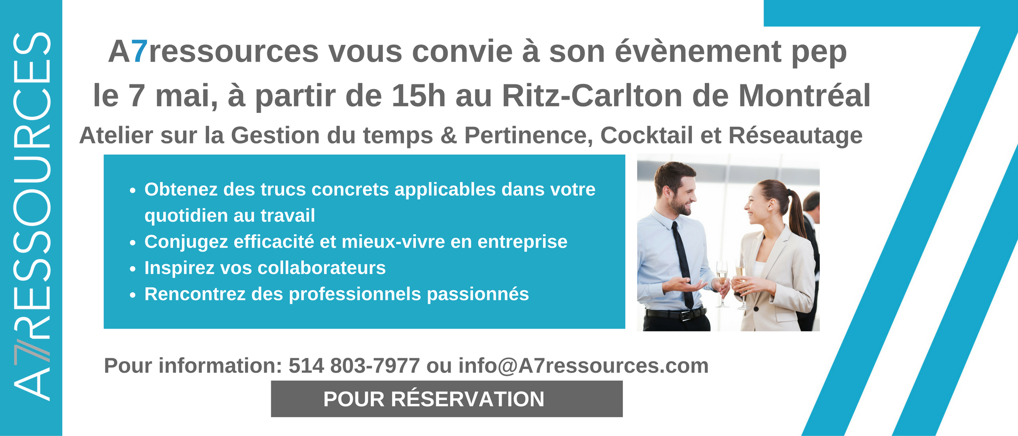 Évènement pep 7 mai Ritz Carlton